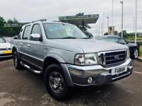 2006 Ford Ranger XLT Wildtrak 2.5TDI Double Cab **70,000 Miles Full History**