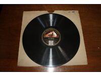 HMV 78 RPM Record - The Answer & The Question