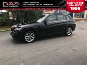 2014 BMW X1 xDrive28i PANORAMIC SUNROOF/LEATHER