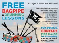 FREE Bagpipe & Drum Lessons