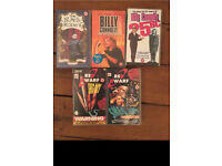 Job Lot VHS Video Tapes British comedy blackadder billy connelly red dwarf