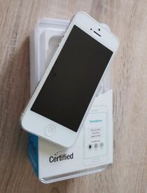Unlocked iPhone 5 32gb white/silver