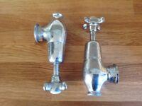 A pair of vintage Bath Taps