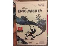 Epic Mickey Wii Game
