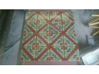 Handmade Pattern Mexican Wall Tiles