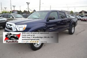 2012 Toyota Tacoma V6 4X4 CREW CAB FULLY LOADED