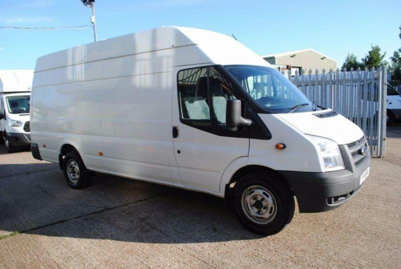 2014 - FORD TRANSIT 2.2 350 LWB HIGH ROOF 124 BHP, EXCELLENT CONDITION, £7,500
