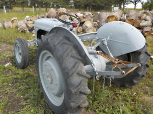 FORD 9N FARM TRACTOR WITH IMPLEMENTS FOR SALE