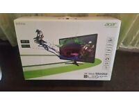 "BRAND NEW ACER 24"" HD LED MONITOR TV SCREEN"