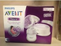 Philips Avent Breast pump and Pads