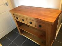 Next oak sideboard