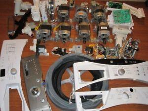 Pieces de Laveuse/Washer Frigidaire, Whirlpool, Samsung,GE, LG..
