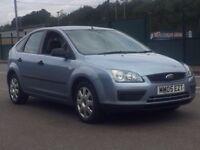2005 (Aug 05) FORD FOCUS 1.6 LX - 5 Dr Hatchback - Petrol - Manual - BLUE *LONG MOT/PX-WELCOME/FSH*