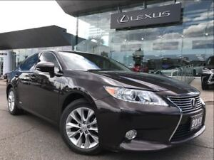 2013 Lexus ES 300h Leather Pkg Navi Backup Cam Sunroof