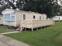Caravan available for Winter Let St. Helens IOW.sleeps 4 . DG/CH large decking area