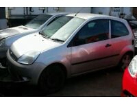 BREAKING FORD FIESTA ZETEC MK6 SILVER 2005 05 3DR MOST PARTS AVAILABLE 67k MILES