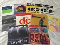 Early 90's Dance Vinyl Job Lot, 50 records!