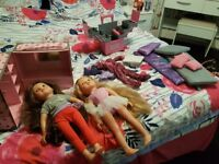 Designafriend dolls and accessories and other items