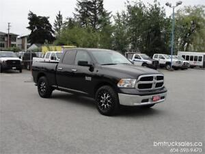 2016 RAM 1500 SLT QUAD CAB SHORT BOX 4X4 **ONLY 18000KM**