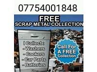 Free scrap metal uplift