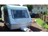 ABi Cricket 500CT 4/5 berth touring caravan