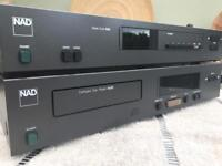 NAD tuner and CD player