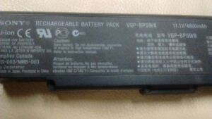 SONY Vaio Rechargeable Battery-Original