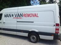 Man and van removal services in Manchester Rusholme and all over U.K.