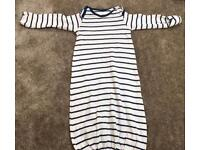 Mothercare sleep outfit baby upto 1 month
