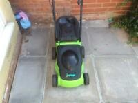 Garden challenge lawnmower