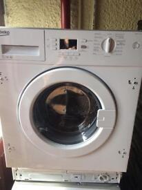 Brand new built in beko washing machine
