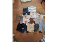 Boys clothes 3-6 and 6-9 month