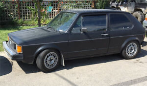1984 vw Rabbit 1.7L gas automatic Parts car 800$ obo
