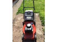 Champion self propelled lawnmower