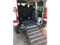 Peugeot Expert 6 seater with wheelchair access