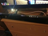 Samsung sound bar with touch sensitive buttons