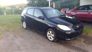 2006 Toyota Matrix for Cash or Trade for 2 Stroke Dirt bike