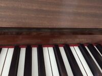 Piano- upright,mahogany,buyer collects, free to a new home Wirral