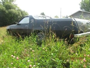 1976 GMC SPRINT (EL CAMIN0) PARTS CAR FOR SALE