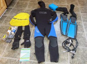 Équipement de plongée sous-marine ski camping