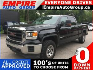 2015 GMC SIERRA 1500 4 WD * REAR CAM * BLUETOOTH * LOW KM