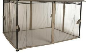 New Replacement 9'x9' waterproof Mosquito Net for Gazebo
