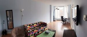 Furnished waterfront one bedroom for rent