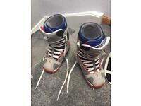 Size 8 Snowboarding Boots
