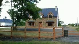 New house on over 1/2 acre ( Cork Ireland)