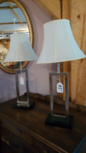 LOTS OF LAMPS to choose from...from $15 & up