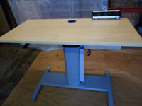 Height Adjustable Office Table 1200mm x 600mm