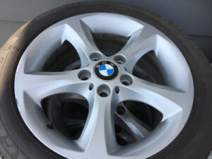 "17"" BMW RIMS w. Tires"
