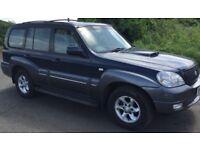 Hyundai Terracan 2.9 CRTD Diesel 4WD 4x4 Mega Low Miles With Mercedes-Benz Engine