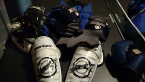 Hockey equipment for a 10-12 year old